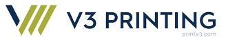 V3 Printing logo